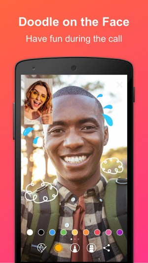 JusTalk - Free Video Calls and Fun Video Chat 7.4.29 Screen 2