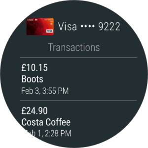 Android Google Pay Screen 2