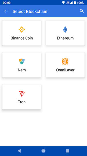 Coinomi Wallet :: Bitcoin Ethereum Altcoins Tokens 1.15.6 Screen 3