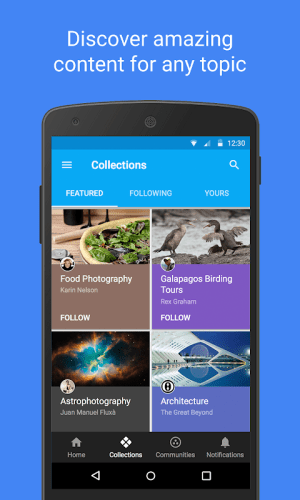 Android Google+ for G Suite Screen 1