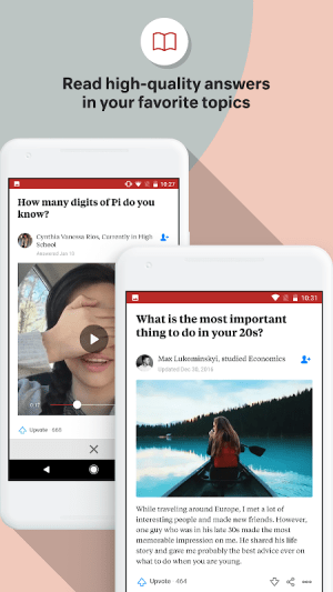 Quora 2.7.5 Screen 1