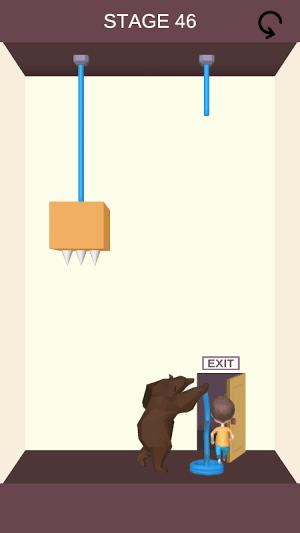 Rescue Cut - Rope Puzzle 1.11 Screen 1