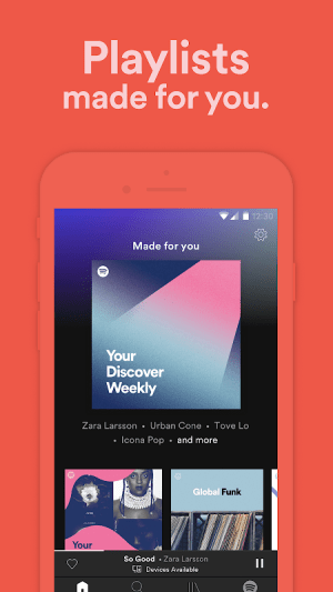 Spotify: Discover Music, Podcasts, And Playlists 8.5.17.309 Screen 8