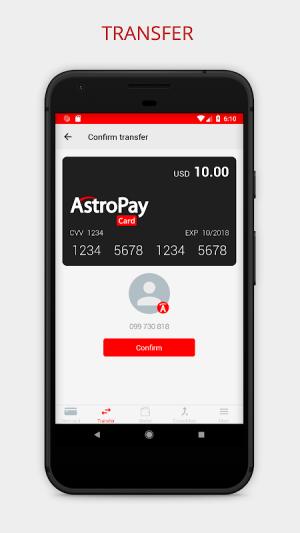 AstroPay Card 1.16 Screen 2