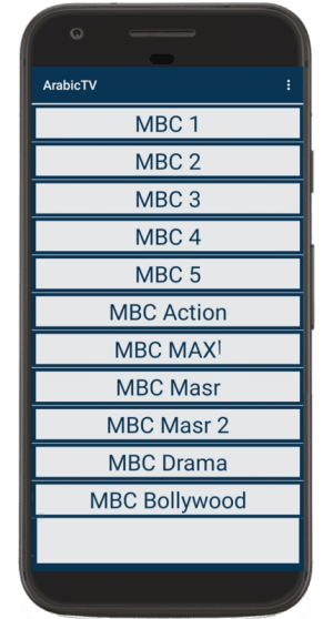 Android ArabicTV Screen 1