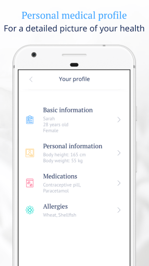 Ada Personal Health Companion 2.3.0 Screen 4