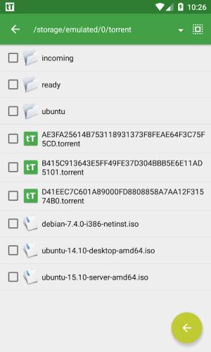 tTorrent - ad free 1.6.6 Screen 5