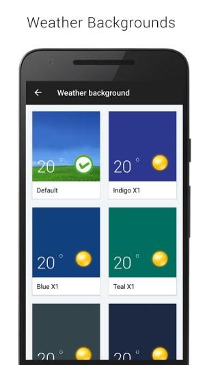 Sense V2 Flip Clock & Weather 5.50.0.1 Screen 1