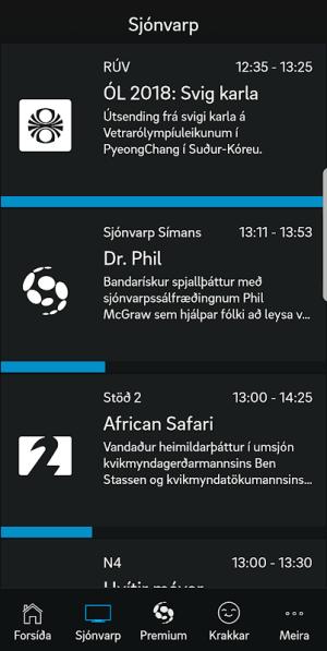 Sjónvarp Símans 2.2.3 Screen 6