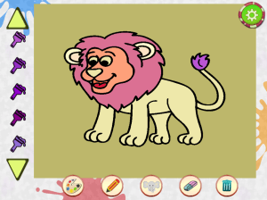 Android Kids Animal Drawing Screen 3