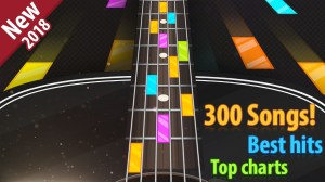 Android Guitar Tiles Don't miss tiles gameplay (Piano Tiles) , over 260 songs Screen 1