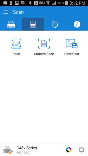 Samsung Mobile Print 4.08.013 Screen 1