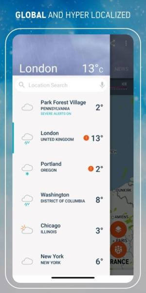 AccuWeather Winter weather alerts & local forecast 6.1.6-free Screen 4