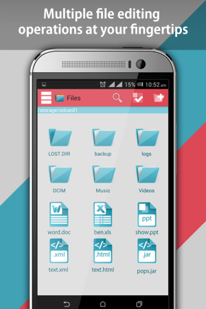 Android File Explorer and File Manager Screen 2
