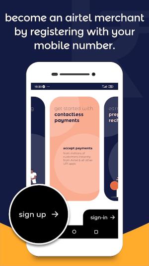 Android Airtel Merchant Screen 5