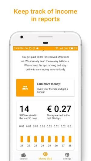 Money SMS   Make Money Online 1.0.3-demo Screen 4
