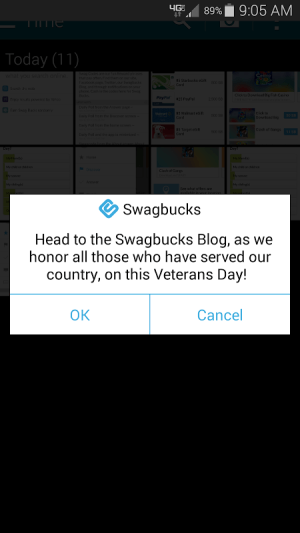 Swagbucks 3.1.2 Screen 7