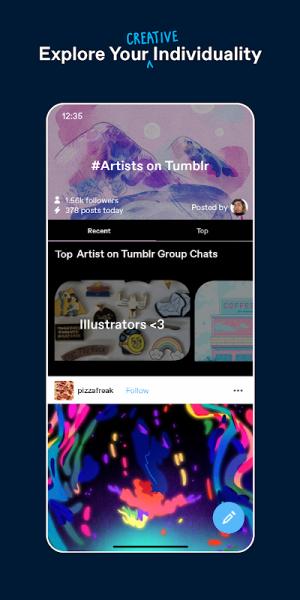 Tumblr 18.6.2.01 Screen 2
