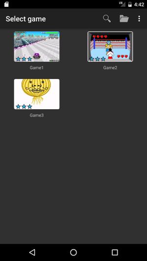 John GBA - GBA emulator 3.66 Screen 3