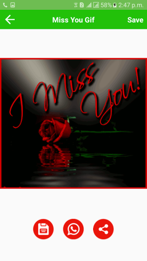 Android Miss You Gif Screen 4