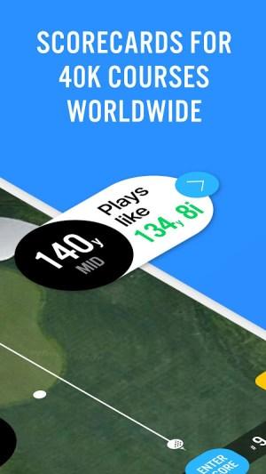 Golf GPS 18Birdies Scorecard & Yardage Rangefinder 11.8.1 Screen 5