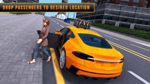 Taxi Driver Rush: Extreme City Pro Driving 1.0 Screen 1
