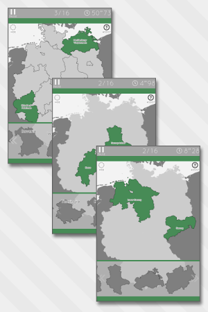 Enjoy Learning Germany Map Puzzle 3.3.1 Screen 7