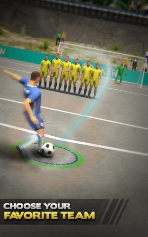 Strike Soccer 2018 Free Kick 3.8c Screen 2