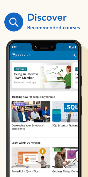 LinkedIn Learning: Online Courses to Learn Skills 0.150.0 Screen 5