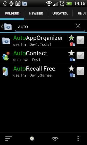Auto App Organizer free 4.19 Screen 1