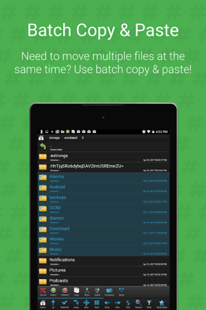 Android Root Browser (File Manager) Screen 7