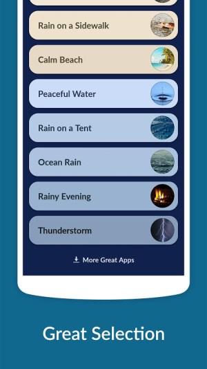 Rain Sounds - Sleep & Relax 3.3.2 Screen 1