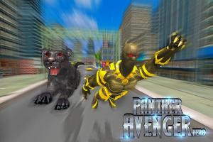 Superhero Panther Flying City Survival 1.0 Screen 7