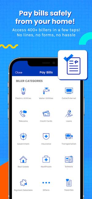 Android GCash - Buy Load, Pay Bills, Send Money Screen 3