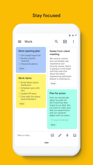 Google Keep - notes and lists 5.20.461.01.40 Screen 9