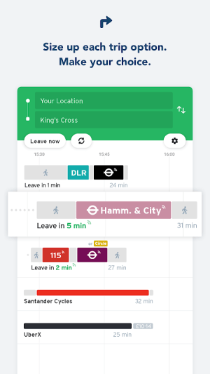 Transit - Live Transport App 5.2.18 Screen 6