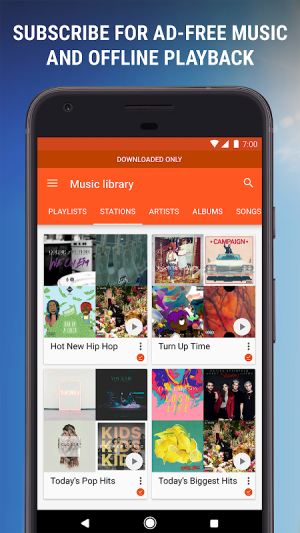 Google Play Music 8.12.7204-1.F Screen 6