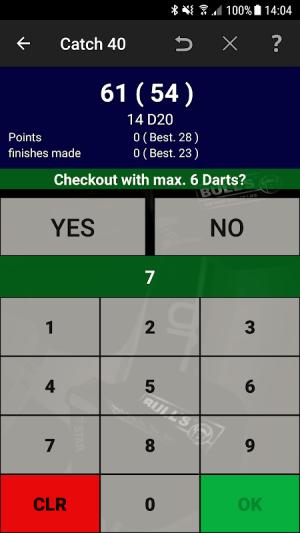 Darts Scoreboard: My Dart Training 2.2.0.3 Screen 11