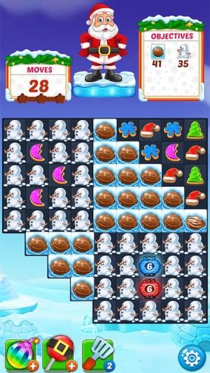 Christmas Cookie - Santa Claus's Match 3 Adventure 3.1.0 Screen 11