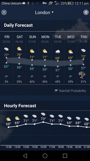 Sense Flip Clock & Weather 8.3.2.1058_release Screen 2
