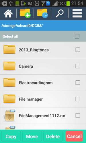 Pro file explorer 2.0 Screen 3