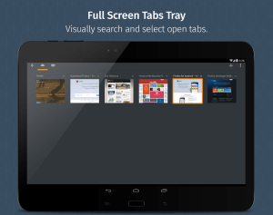Firefox for Android Beta 68.4 Screen 2