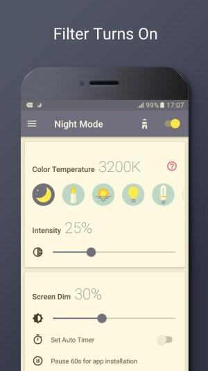 Blue Light Filter - Night Mode, Night Shift 1.4.7N Screen 2