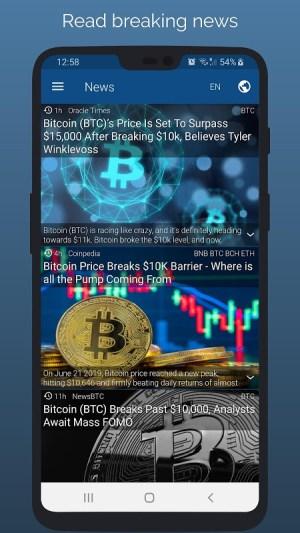 Crypto App - Widgets, Alerts, News, Bitcoin Prices 2.4.3 Screen 7