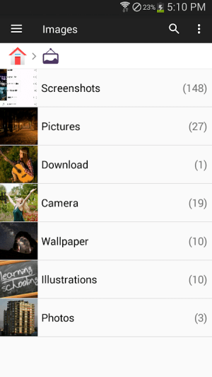 File Manager 2.3.4 Screen 4