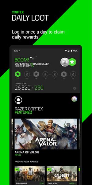 Razer Cortex 5.0.368 Screen 2