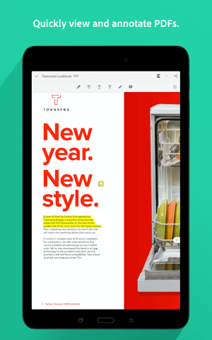 Android Adobe Acrobat Reader: PDF Viewer, Editor & Creator Screen 6
