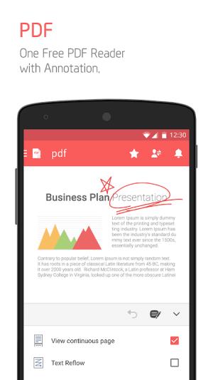 Polaris Office - Free Docs, Sheets, Slides + PDF 9.0.4 Screen 15