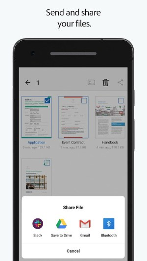 Android Adobe Fill & Sign: Easy PDF Form Filler Screen 2
