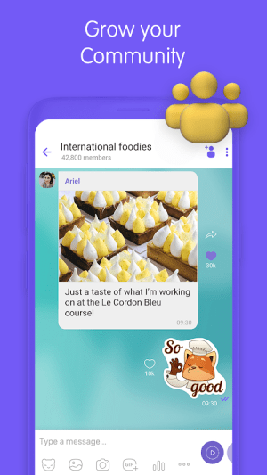 Viber Messenger 12.2.0.7 Screen 3